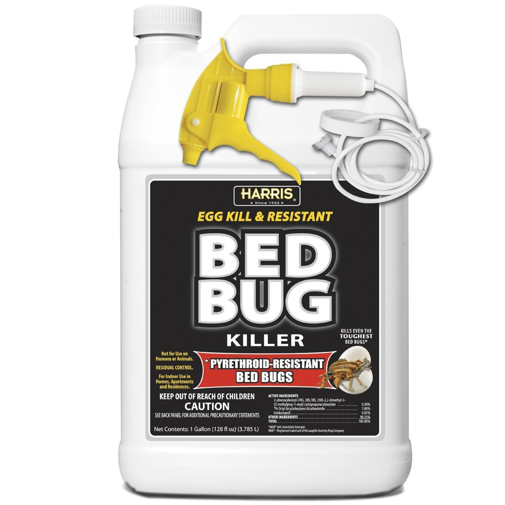 5 harris toughest bed bug spray